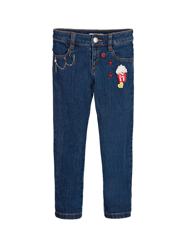 Брюки джинсовые Little Marc Jacobs для девочекДжинсы<br><br>