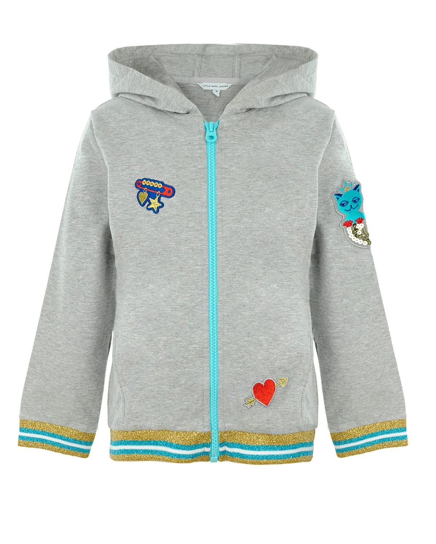 Куртка спортивная Little Marc Jacobs для девочекСпортивная одежда<br><br>