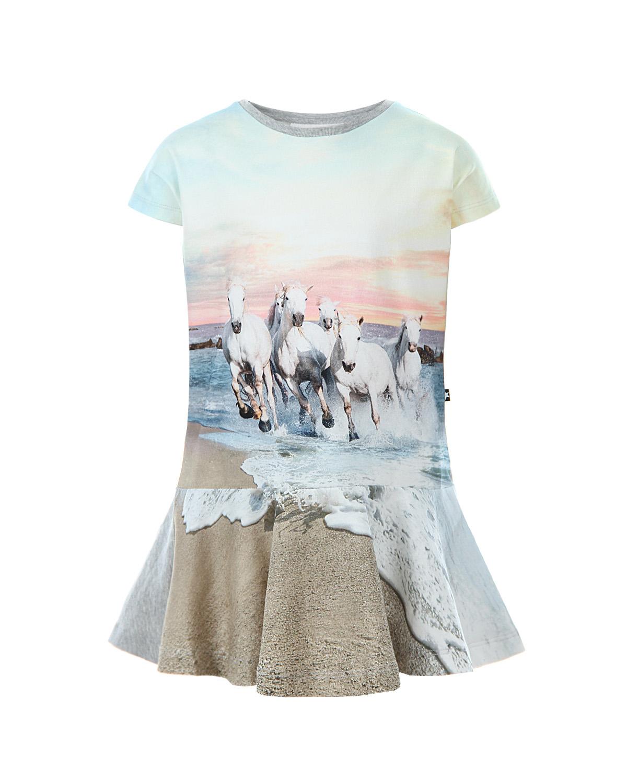 Платье Molo для девочекОдежда<br><br>