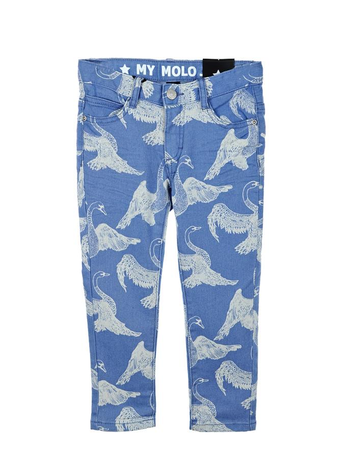 Брюки джинсовые Molo для девочекДжинсы<br><br>