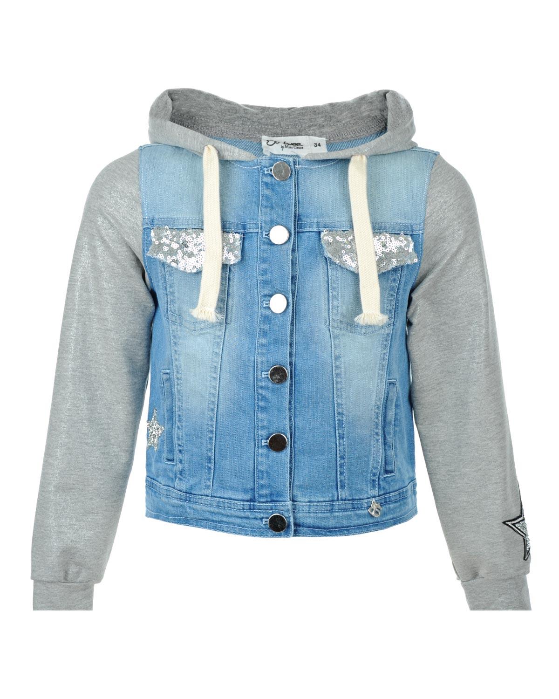 Куртка джинсовая Miss Grant для девочекВерхняя одежда<br><br>