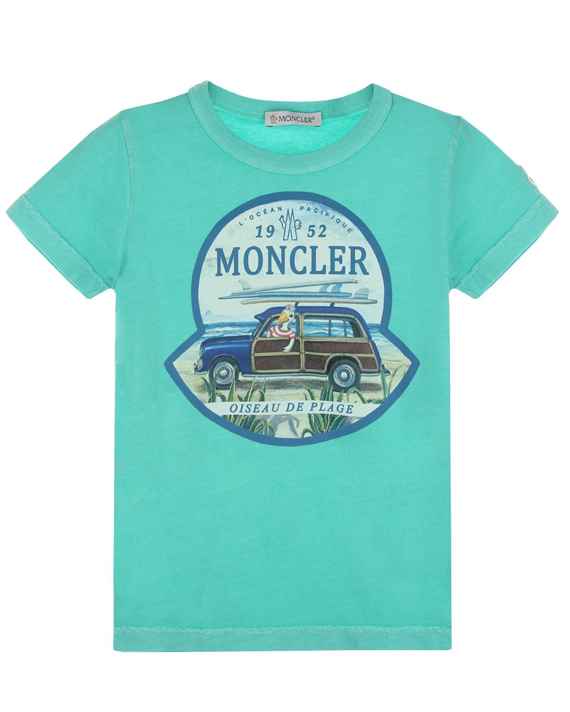 Футболка Moncler для мальчиков