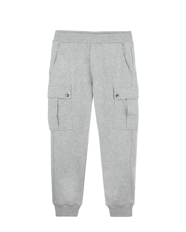 Брюки спортивные Moncler для мальчиковСпортивная одежда<br><br>