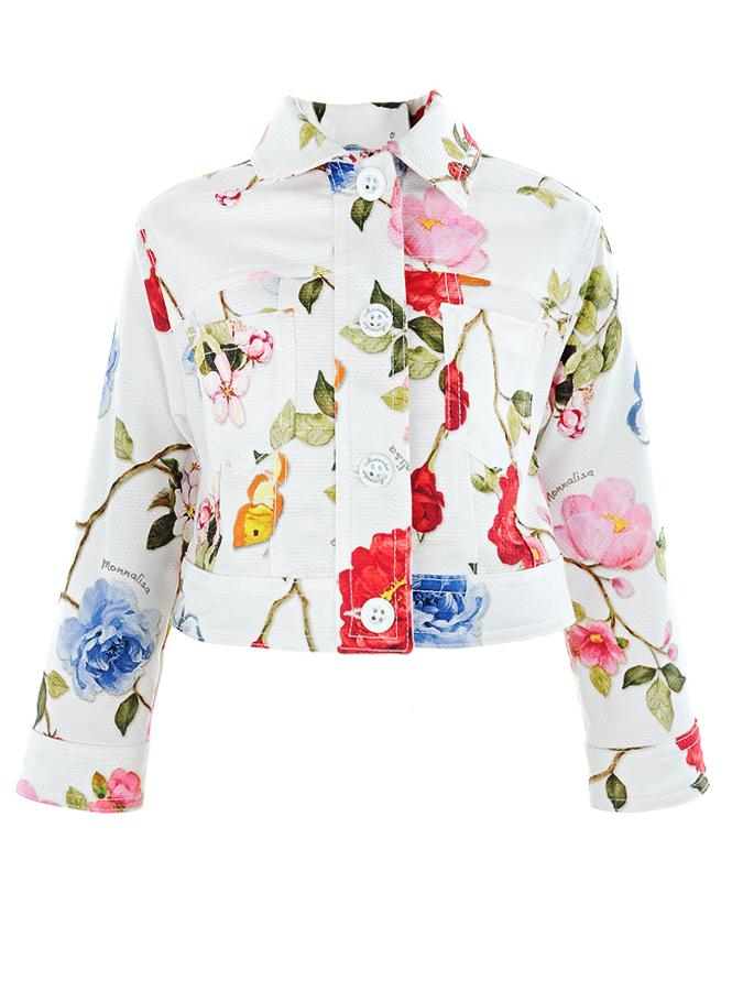 Пиджак Monnalisa для девочекПиджаки, Жакеты, Жилеты<br><br>