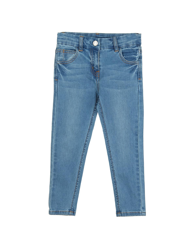 Брюки джинсовые Monnalisa для девочекДжинсы<br><br>
