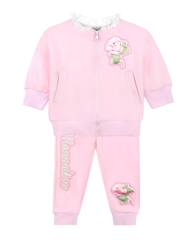 Костюм спортивный Monnalisa для девочекСпортивная одежда<br><br>
