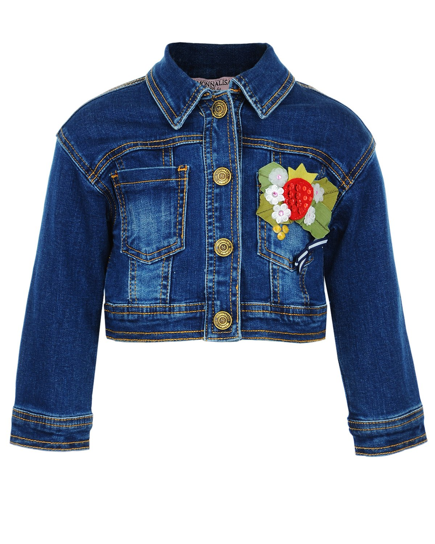 Куртка джинсовая MonnaLisa Bebe для малышейВерхняя одежда<br><br>
