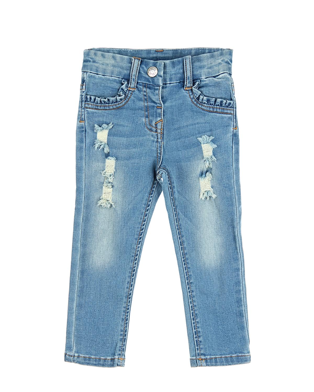 Брюки джинсовые MonnaLisa Bebe для малышей