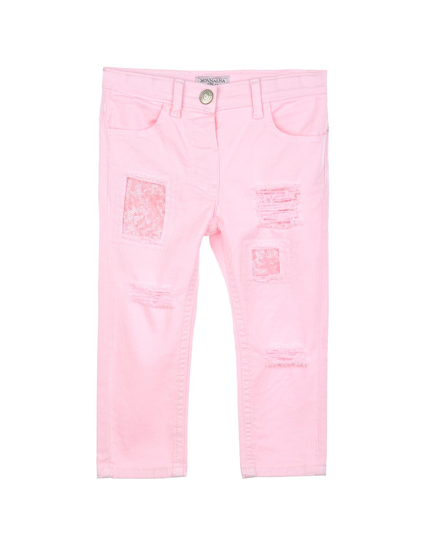 Брюки джинсовые MonnaLisa Bebe для малышейОдежда<br><br>
