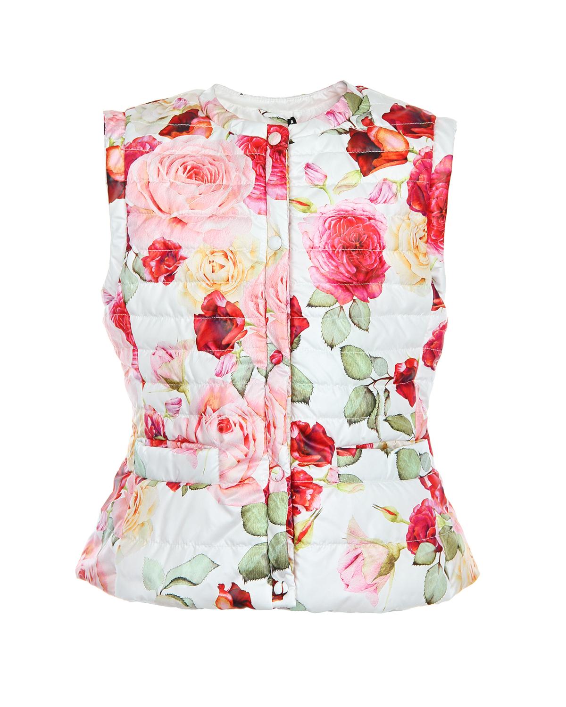 Жилет MonnaLisa Jakioo для девочекВерхняя одежда<br><br>