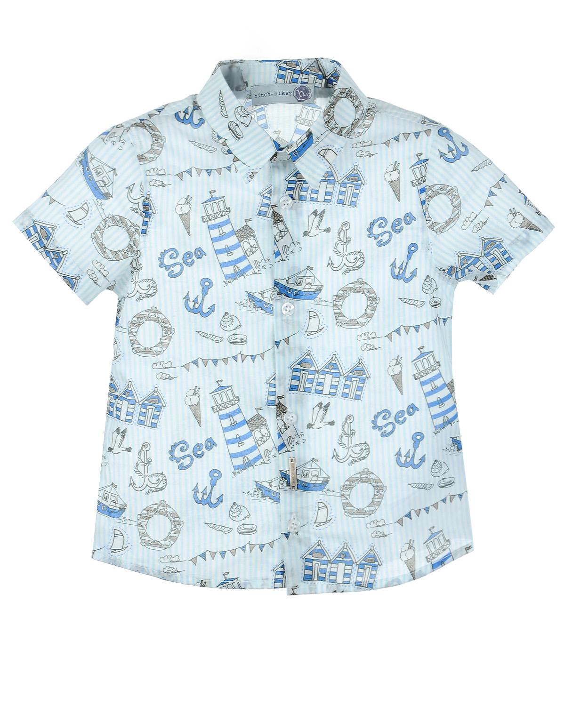 Рубашка Hitch-Hiker для малышейОдежда<br><br>