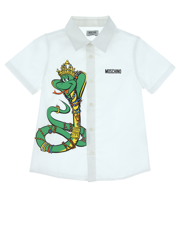 Рубашка Moschino для малышейОдежда<br><br>