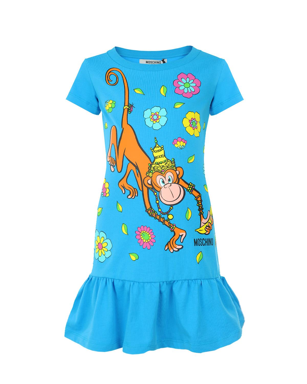 Платье Moschino для девочекПлатья, Сарафаны<br><br>