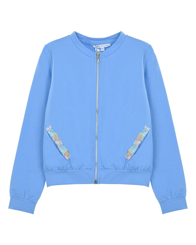 Куртка трикотаж Patrizia Pepe для девочекОдежда<br><br>
