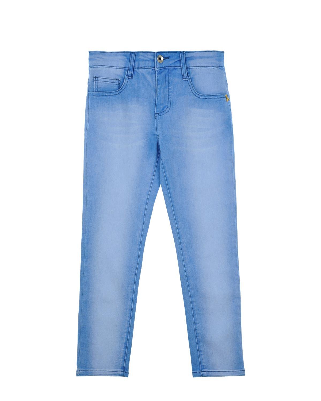 Брки джинсовые Patrizia Pepe дл девочекОдежда<br><br>