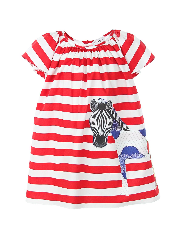 Платье Stella Jean для девочекПлатья, Сарафаны<br><br>