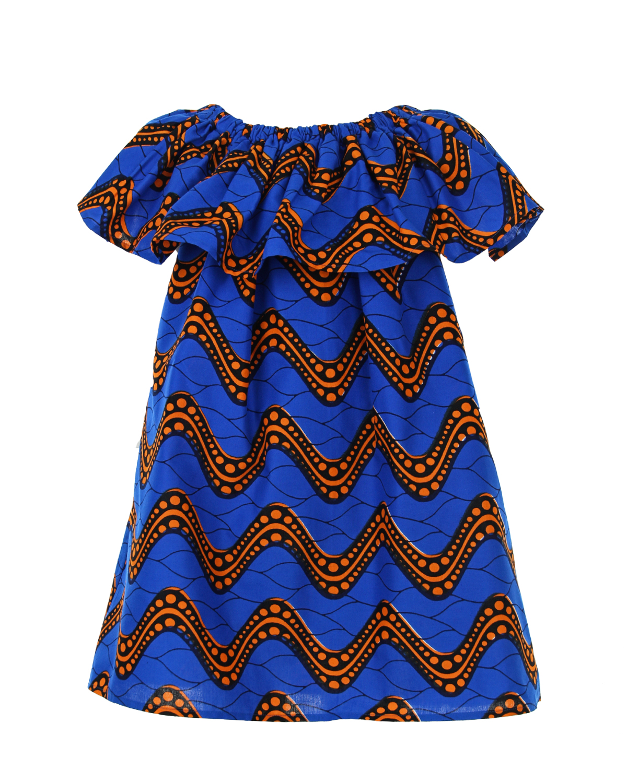 Платье Stella Jean для девочекОдежда<br><br>