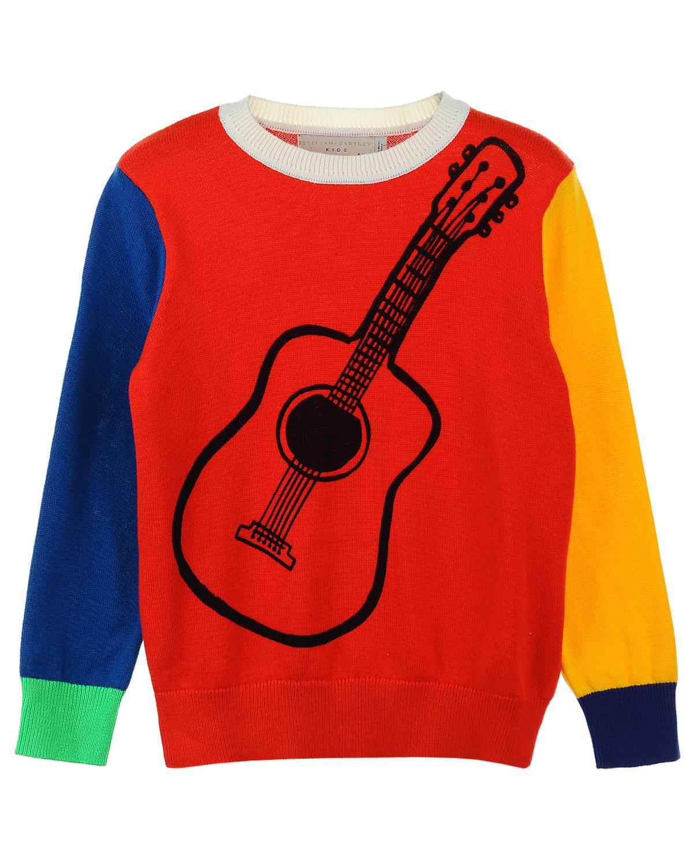 Джемпер Stella McCartney для мальчиковСвитеры, Пуловеры<br><br>
