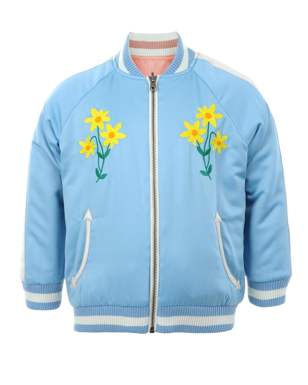 Куртка Stella McCartney для девочекКуртки демисезонные<br><br>