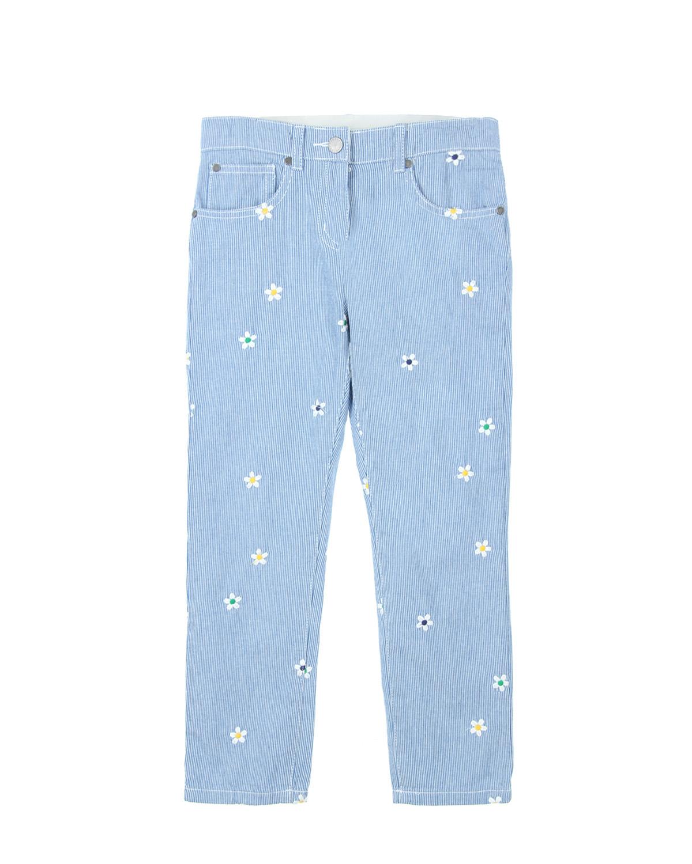Брюки джинсовые Stella McCartney для девочекДжинсы<br><br>