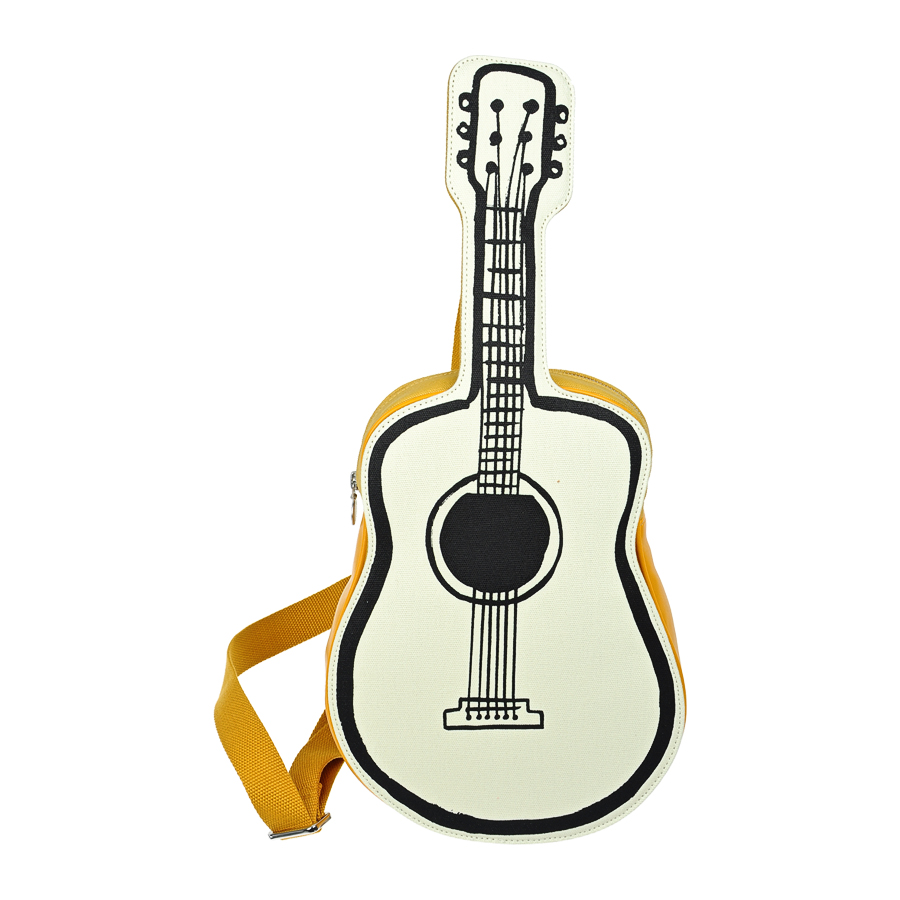 Сумка Stella McCartney форма гитары через плечо