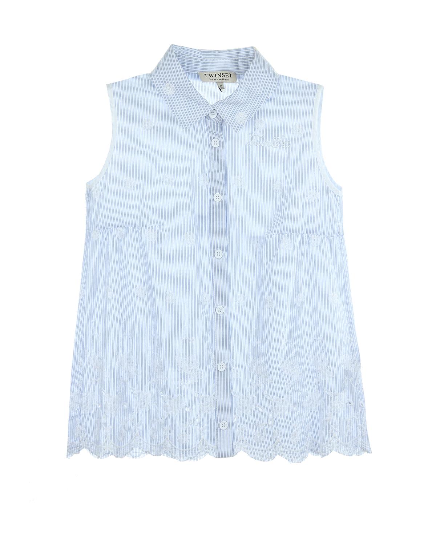 Рубашка Twin Set для девочекОдежда<br><br>