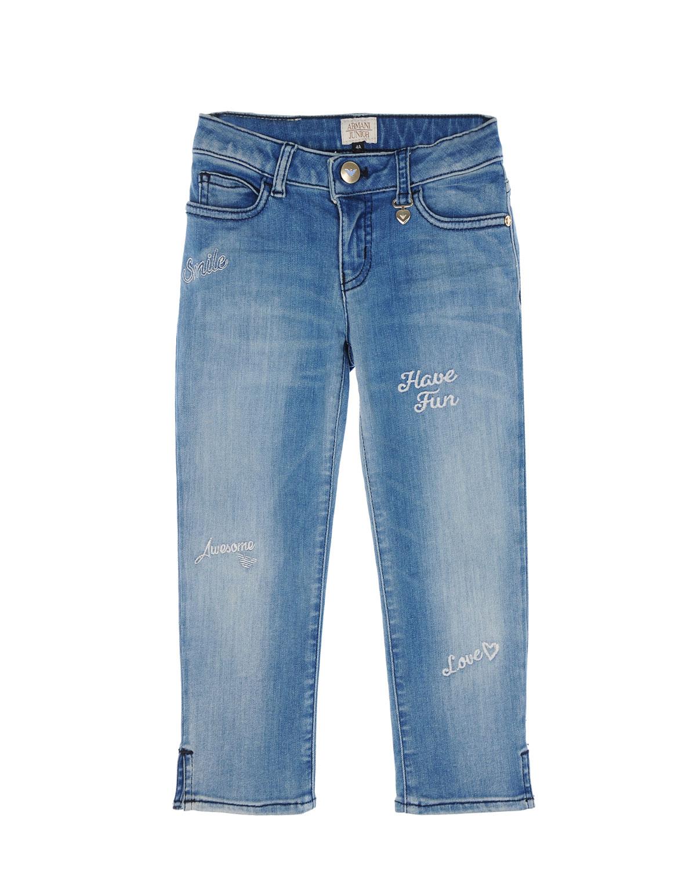 брюки emporio armani для девочки