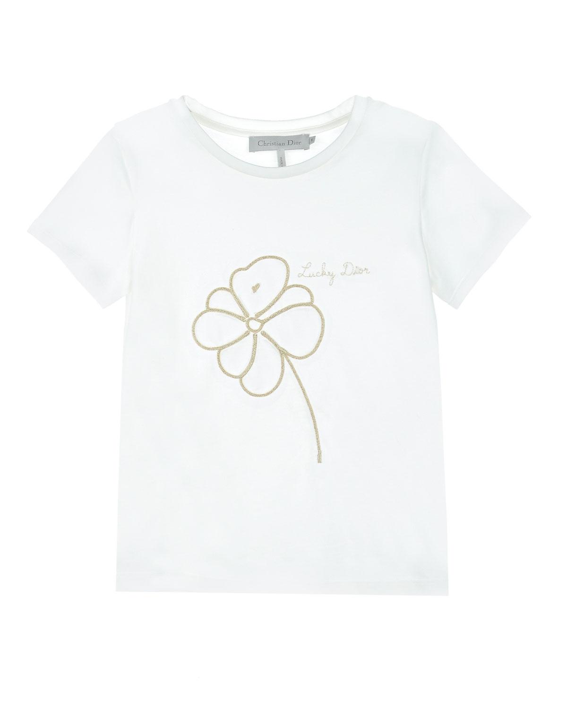 футболка dior для девочки