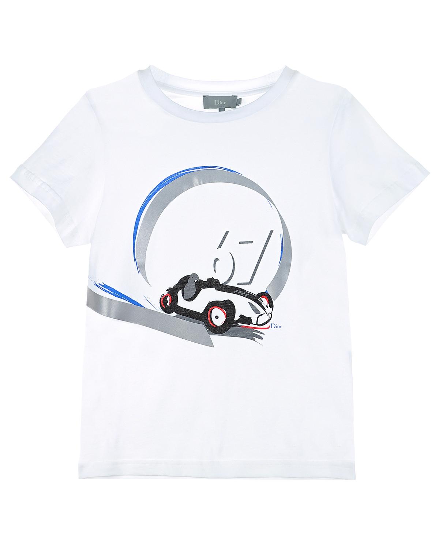 футболка dior для мальчика