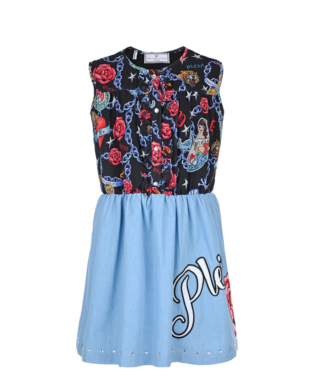 платье philipp plein для девочки