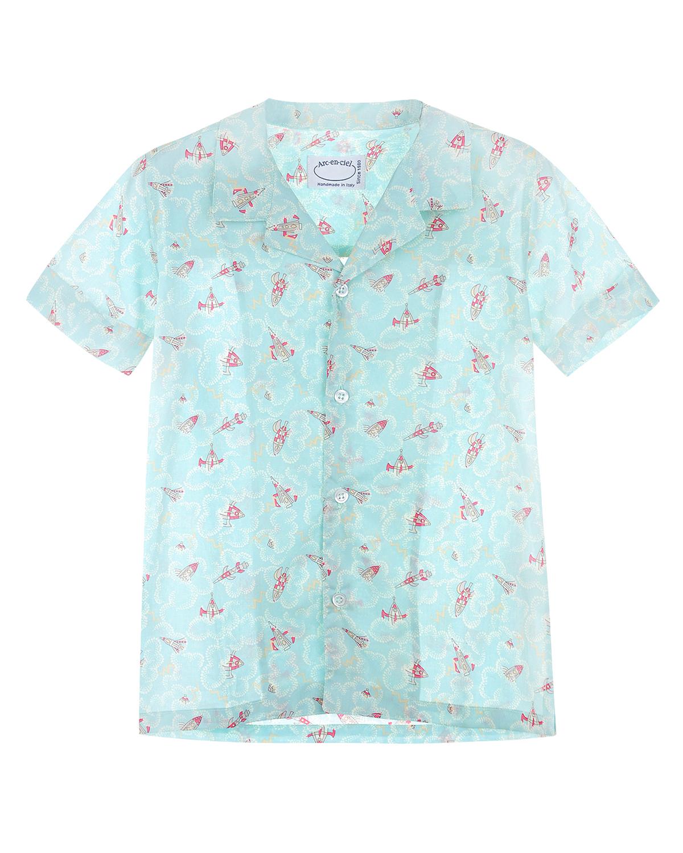рубашка arc-en-ciel для мальчика