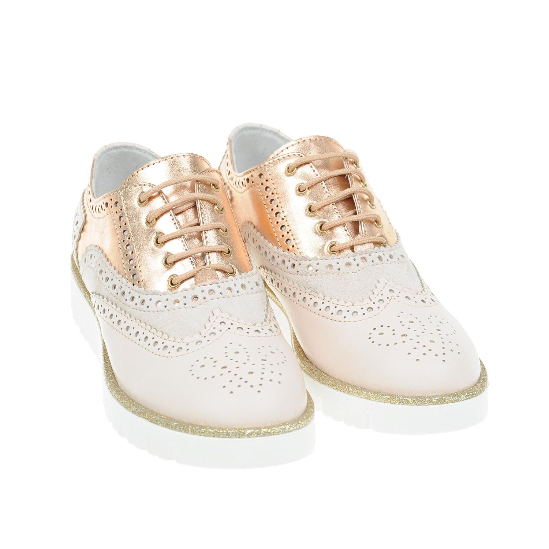 Кожаные ботинки с перфорациейБотинки, сапоги демисезонные<br><br>