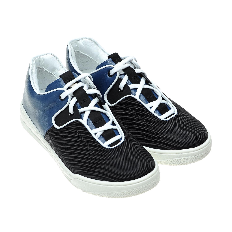 Купить Комбинированные кеды на шнуровке, Dior