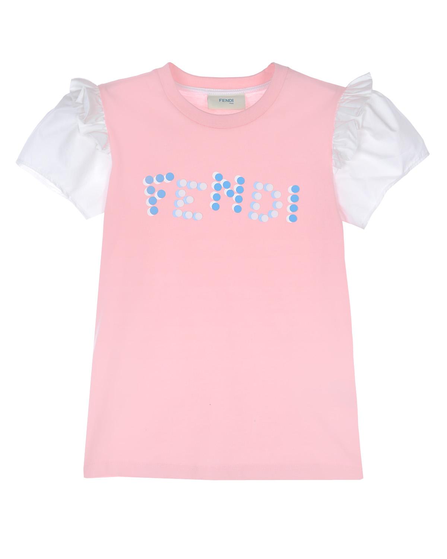 футболка fendi для девочки