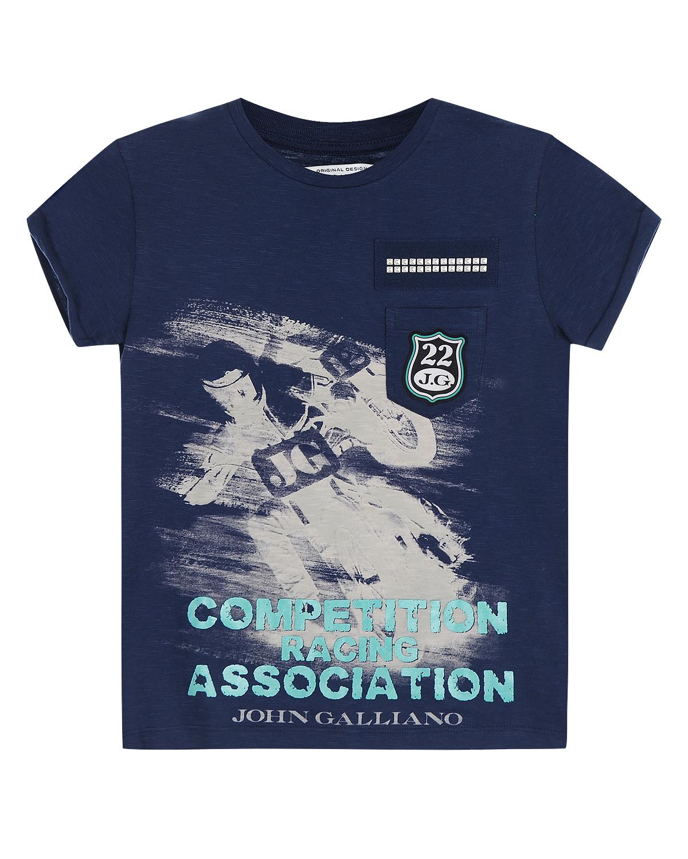 футболка john galliano для мальчика