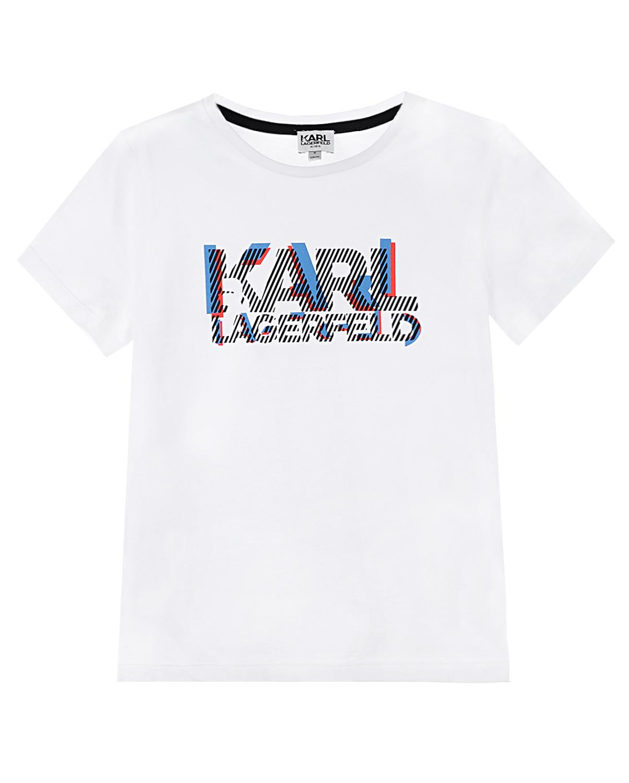 Купить Футболка с принтом, Karl Lagerfeld