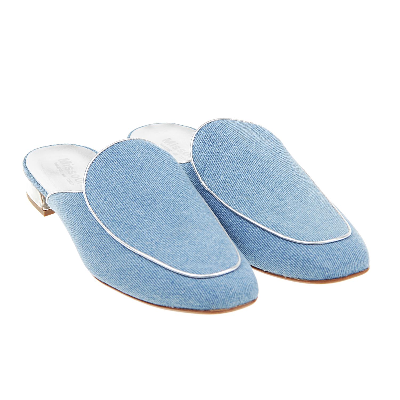 Мюли на устойчивом каблуке