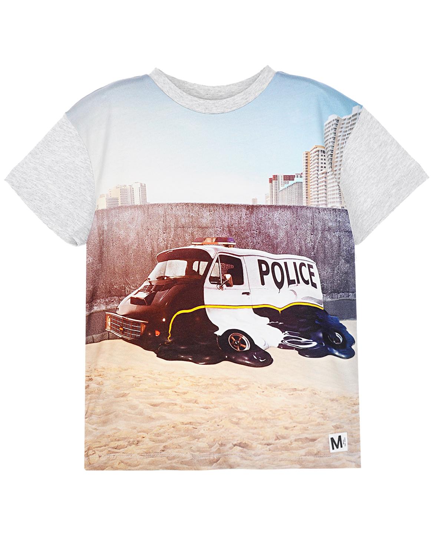 футболка molo для мальчика