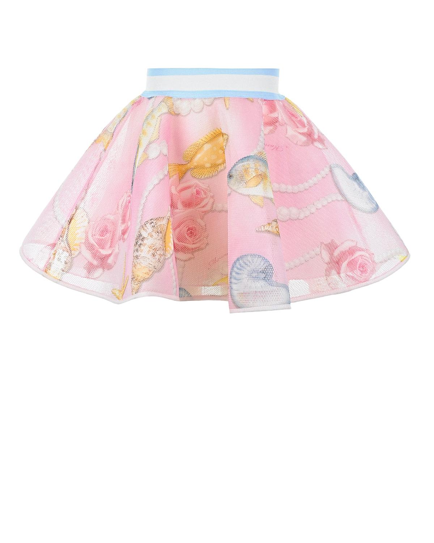 Купить Пышная юбка-солнце, Monnalisa