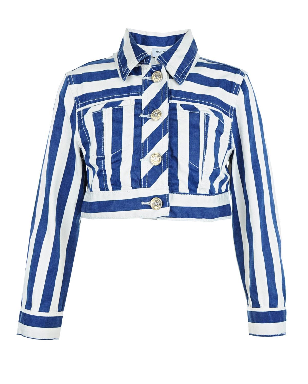 Купить со скидкой Куртка в полоску