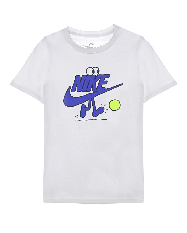 Купить Футболка с принтом из хлопка Nike