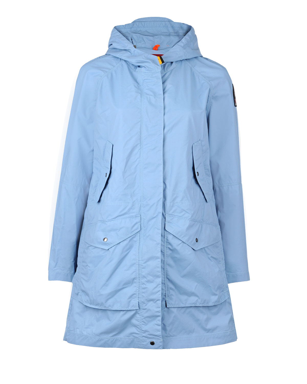 Голубая куртка с контрастной деталью ParajumpersКуртки и Парки<br>