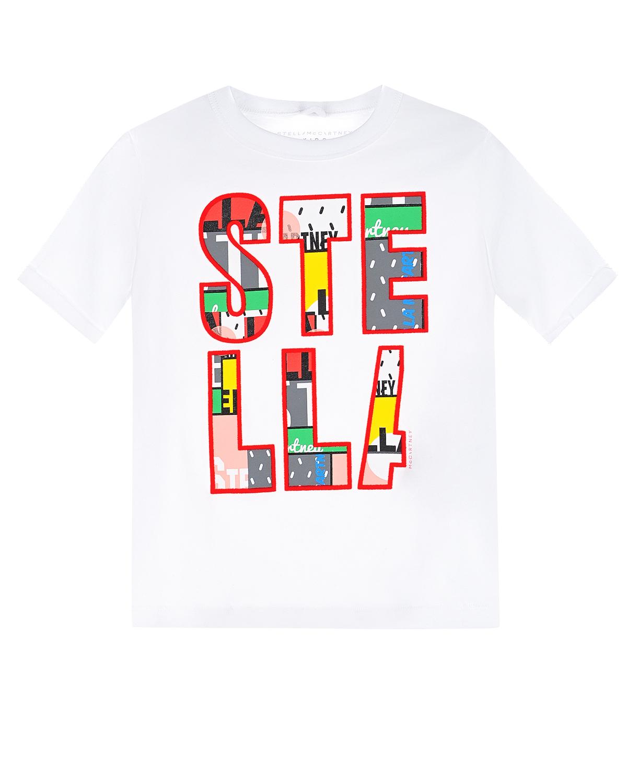 футболка stella mccartney для девочки