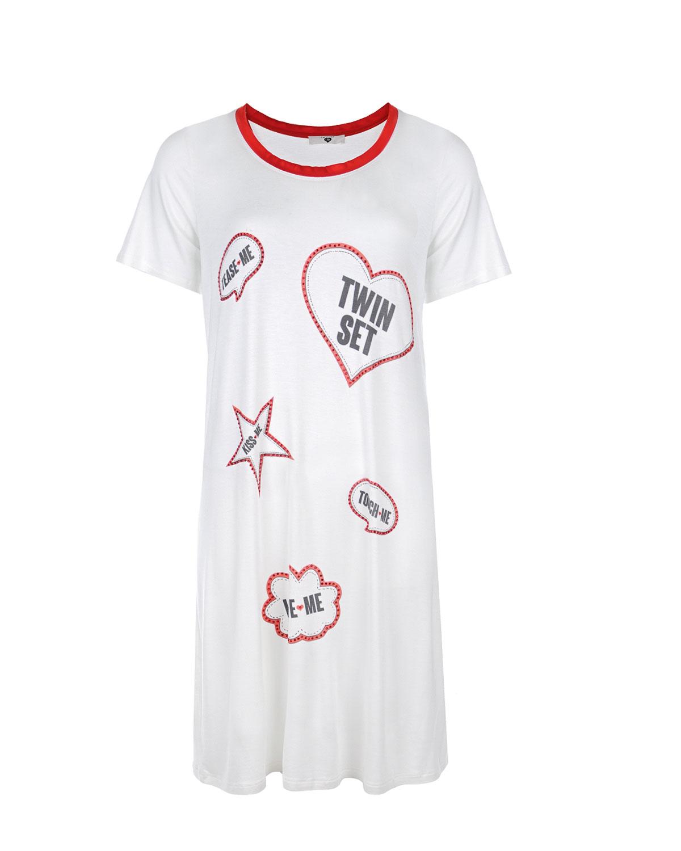женские сорочка ночная twin set