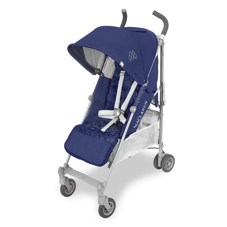 Прогулочная коляска Quest medieval blue/silver, Maclaren  - купить со скидкой