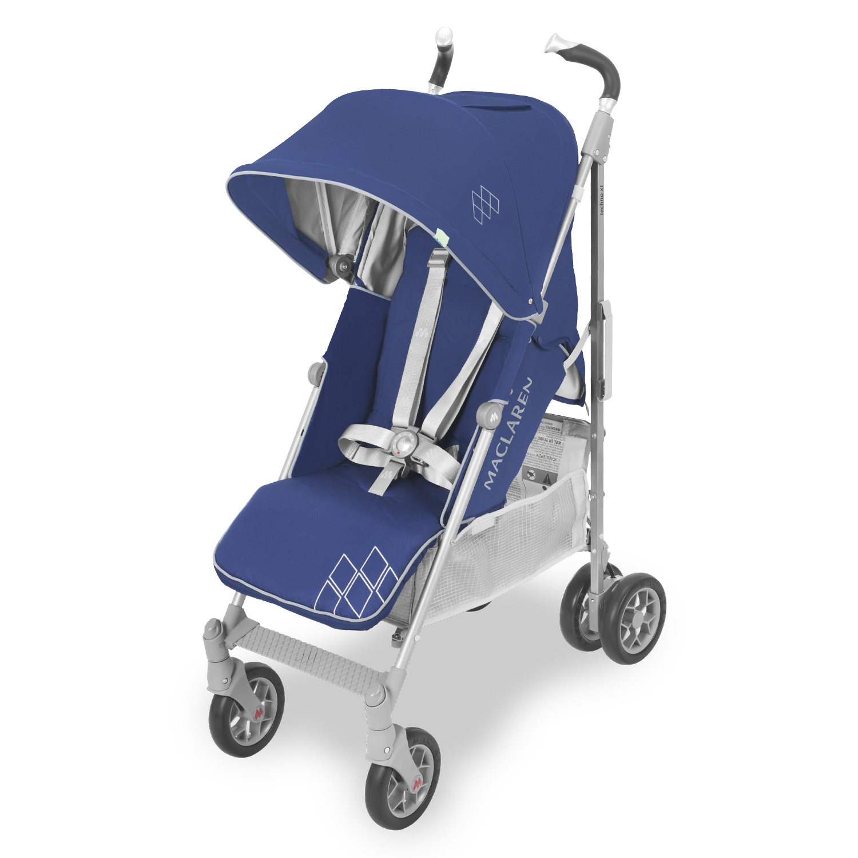 Купить Прогулочная коляска Maclaren Techno XT medieval blue/silver