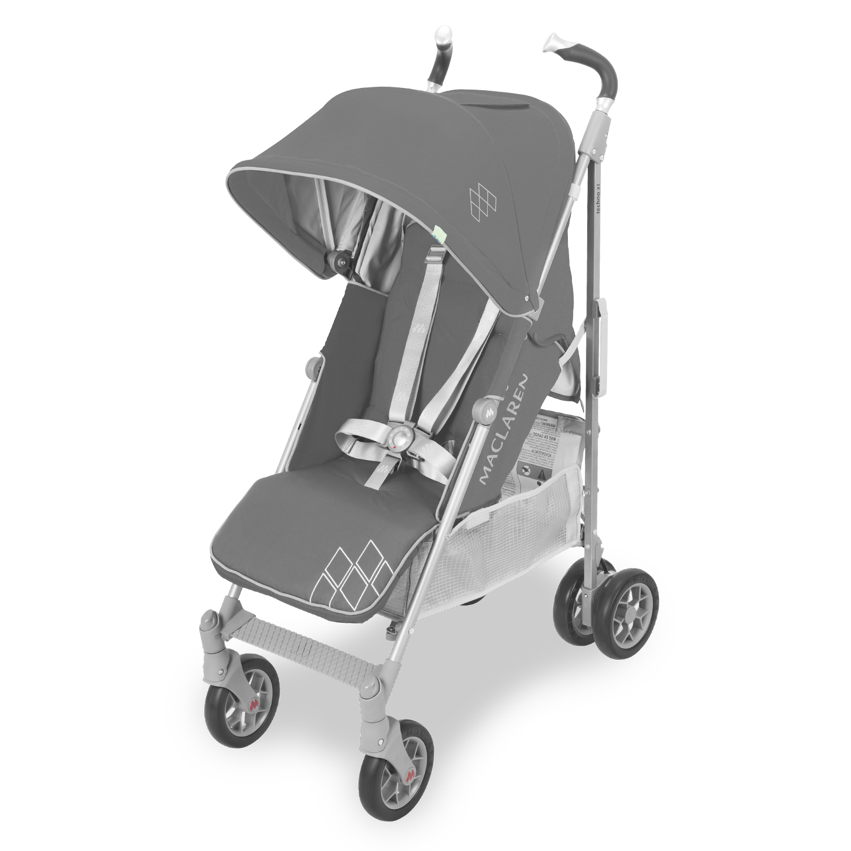 Купить Прогулочная коляска Maclaren Techno XT сharcoal/silver