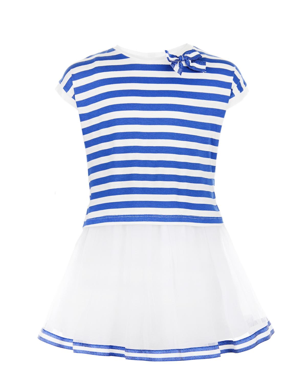Купить Платье Aletta детское, Мультиколор, 94%хлопок+6%эластан, 100%полиамид, 95%вискоза+5%эластан