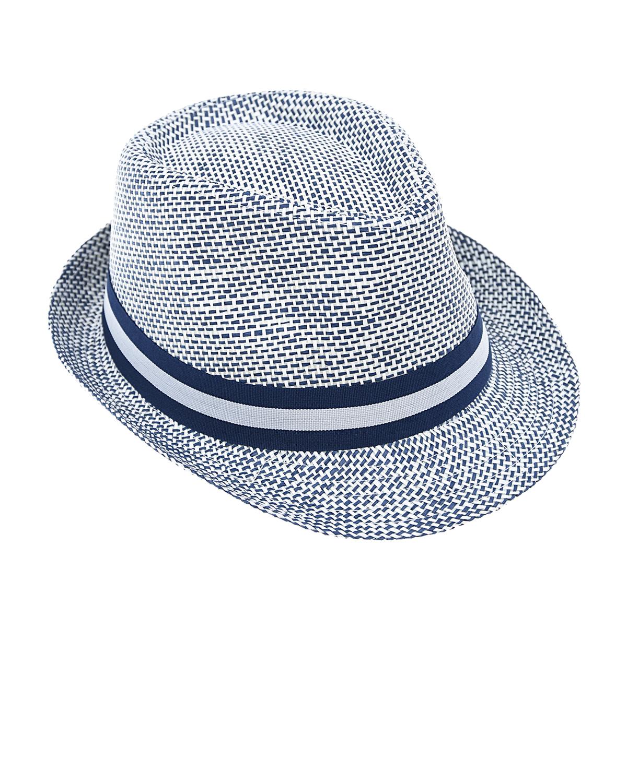 Купить Шляпа Catya детская, Голубой, 100%солома