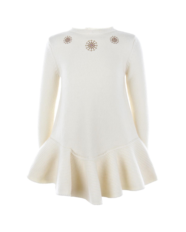 Купить Шерстяное платье с вышивкой Dior